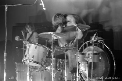 Led Zeppelin in 1969 at the Kinetic Playground, Chicago