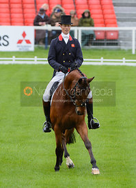 William Fox-Pitt and COOL MOUNTAIN - Dressage phase, Mitsubishi Motors Badminton Horse Trials 2014
