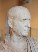 "Marble bust of Emperor Decius. ""Portraits. The Many Faces of Power"" Exhibition"