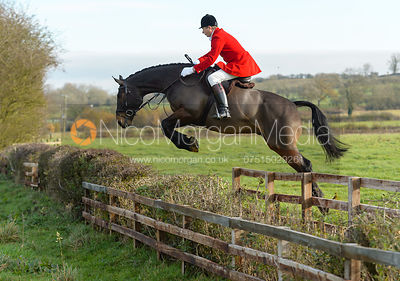 The Cottesmore Hunt at Deane Bank Farm 14/11