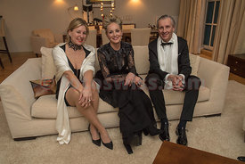 Sharon Stone Charity Event at Hotel Kempinski in St.Moritz