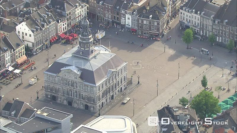 Orbiting the Town Hall in Maastricht, The Netherlands