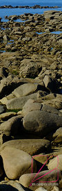 Rocks on the North shore of Batz Island