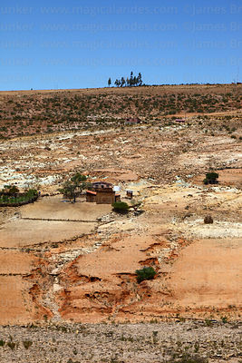 Farm in countryside, Torotoro National Park, Bolivia