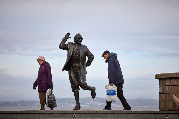 A Statue of Eric Morecambe