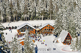 Mount Hood Skibowl Ski Resort; Government Camp, Oregon, U.S.A.