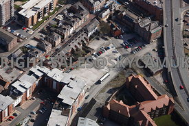 Chester aerial view of Charles Street