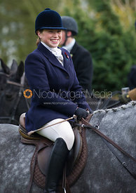 Lucinda Winnington - The Quorn Hunt at John O' Gaunt 9/11/12