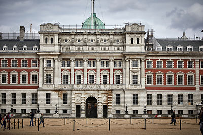 The old Admiralty Horse Guards