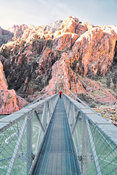Hikers Bridge- Near Phantom Ranch, Grand Canyon