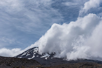 Mt Ruapehu clouds