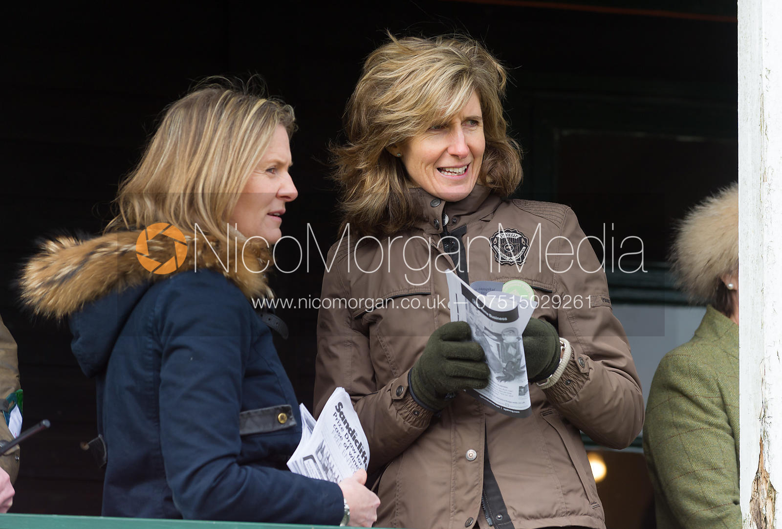 Sophie Weatherby and Zoe Gibson - Cottesmore at Garthorpe 3/3/13