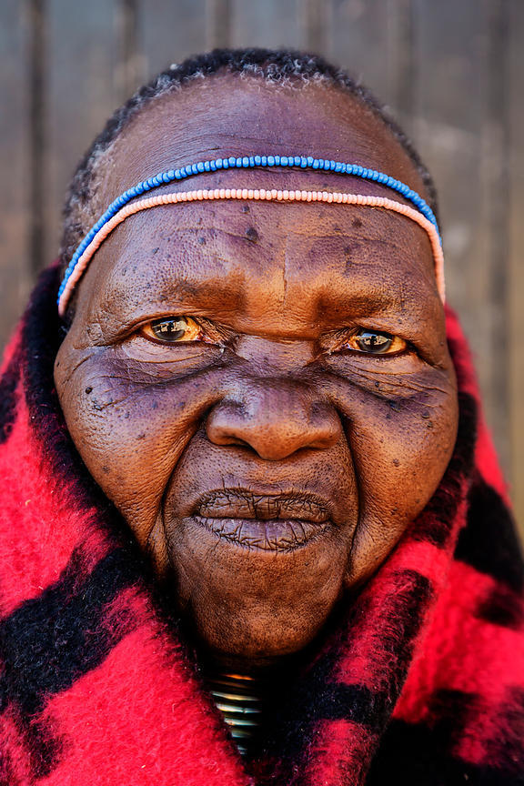 Portrait of an Ndebele Woman