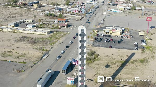 Baker California Home of Worlds Tallest Thermometer