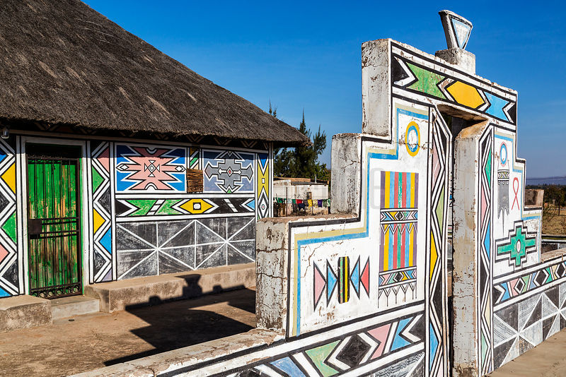 Abandoned Ndebele Home