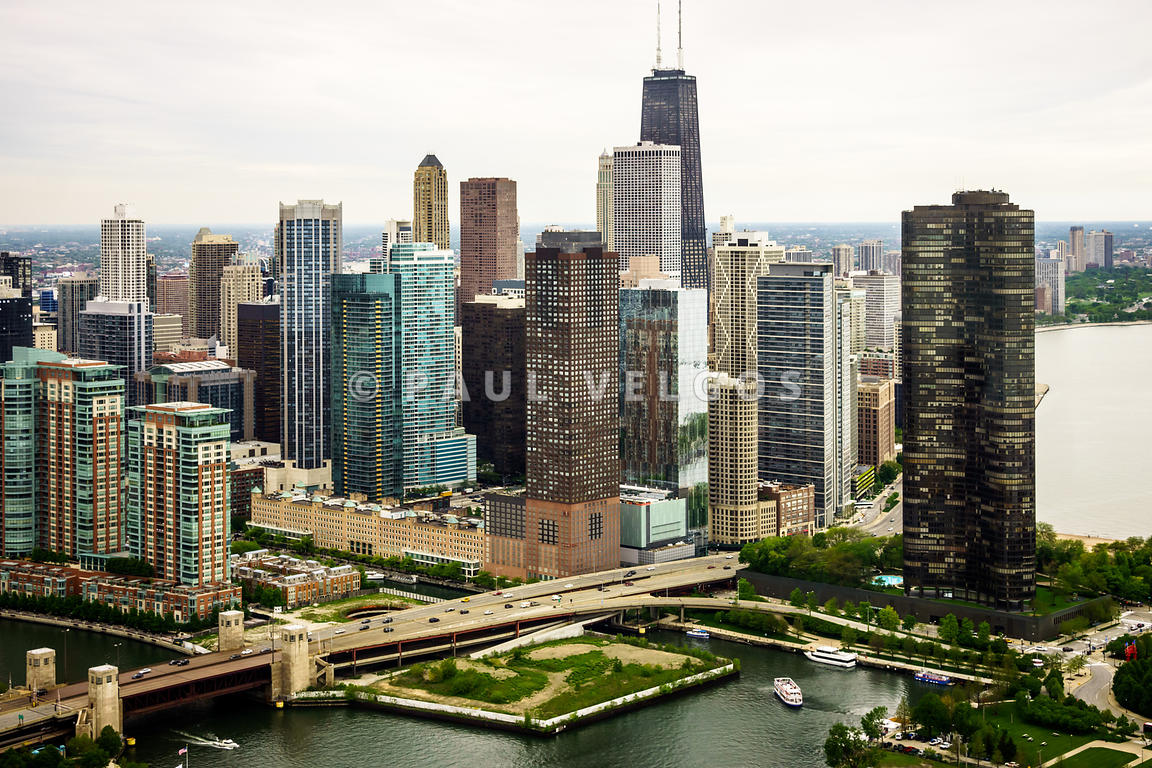 Chicago Aerial Picture of Streeterville