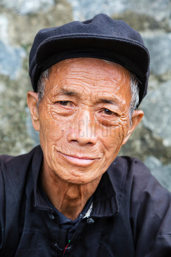 Portrait of a Hmong Man
