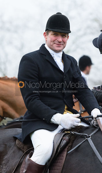 Geoff Bridges At the meet. The visit of the Wynnstay Hounds to the Cottesmore 27/11
