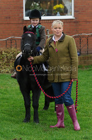 James Henry and his Mother at the meet - Bedale at Tunstall, Catterick