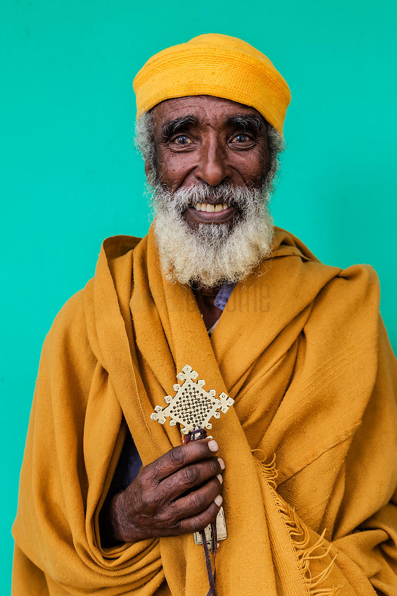 Portrait of an Ethiopian Priest