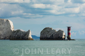 The Needles Isle of Wight from the Western Solent.