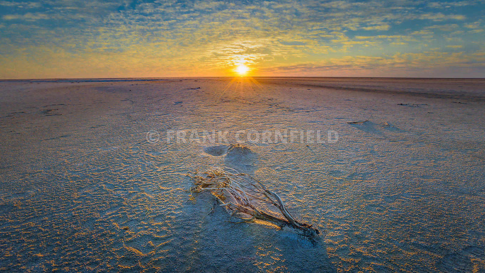 Lake Eyre Sunrise