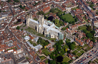 Canterbury Cathedral,  England UK