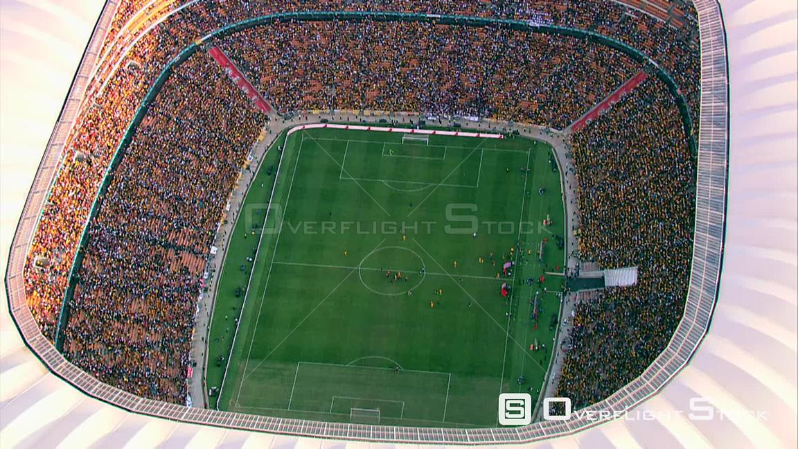 OverflightStock | Aerial shot of FNB Stadium (Soccer City
