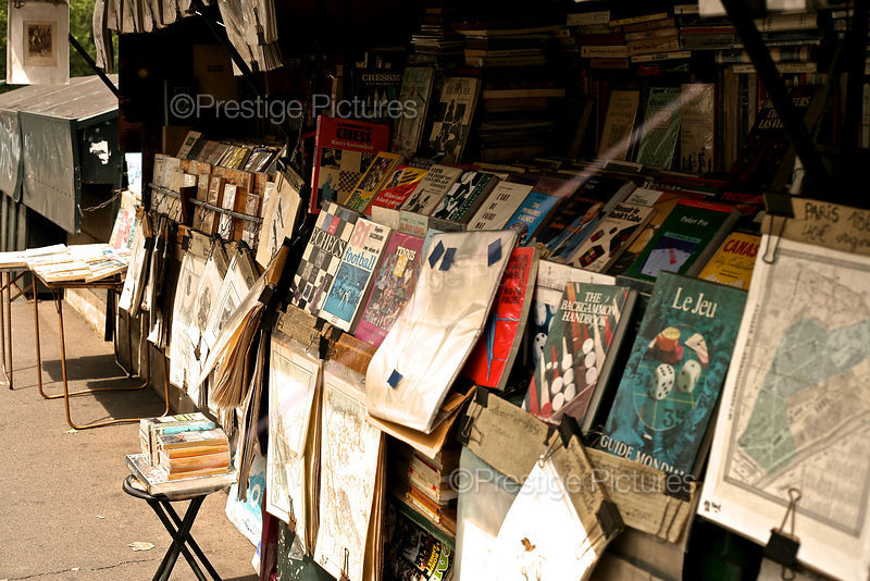 Magazines and Books for Sale  by The River Seine