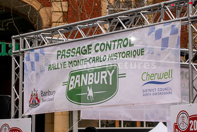Banner for the Banbury Passage Control in Banbury