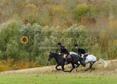 Martin Reason at Stone Lodge. The Cottesmore Hunt at Tilton