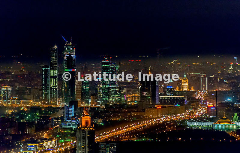 latitude image moscow russia moscow city moscow international business center aerial photo 2