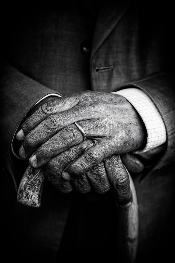 Closeup of a Man's Hands