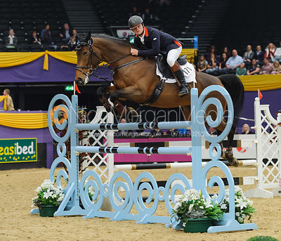 Reece Oliver and Veroniek II - The Horse and Hound Foxhunter, Horse of the Year Show 2010
