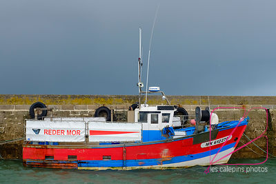 fishing boats in Roscoff