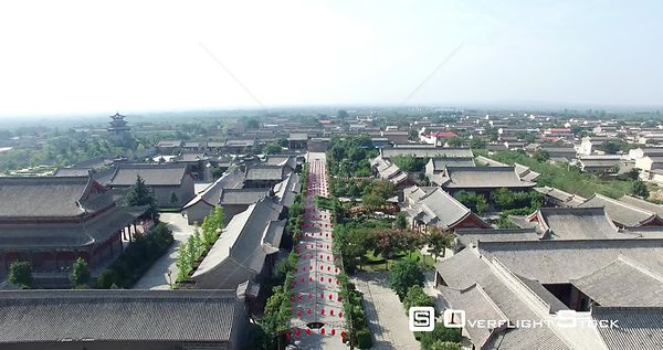 Chinese Ancient Architecture of Pingyao Shanxi China