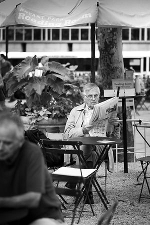 Street Photo - The Reading Room