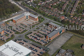 Manchester aerial photographs of Altas Business Park Simonsway Manchester Airport Wythenshaw