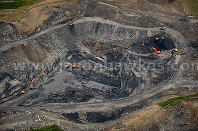 Coal Mine near Forth, South Lanarkshire, Scotland