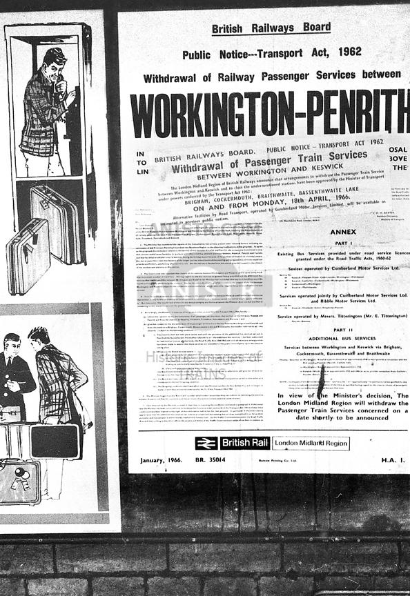Closure poster Workington