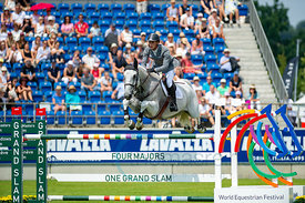 21/07/18, Aachen, Germany, Sport, Equestrian sport CHIO Aachen 2018 - U25 Springpokal,  Image shows Richard Vogel. Copyright:...