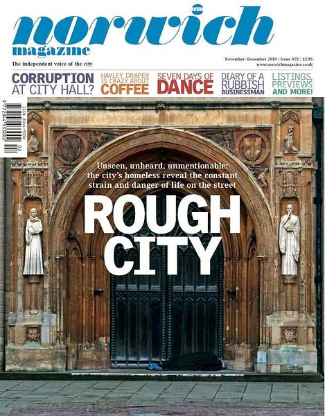 Norwich Magazine Rough City Feature..Nov 2010..Photograph by Jason Bye.Credit Mandatory.t:  07966 173 930.e: mail@jasonbye.co...