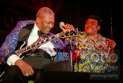 B.B. King and James Cotton