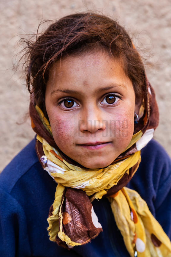 Portrait of a Young Berber Girl