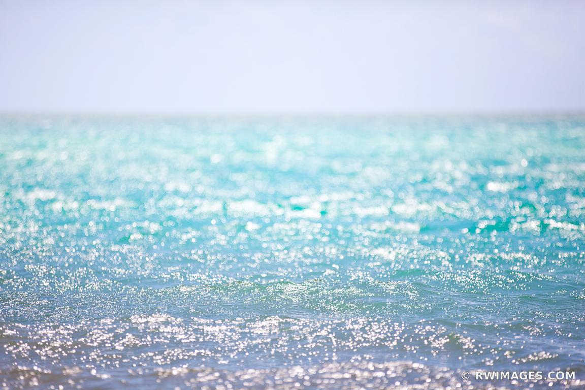 OCEAN NATURE ABSTRACT TURQUOISE WATER KEY WEST FLORIDA COLOR OCEAN SEASCAPE