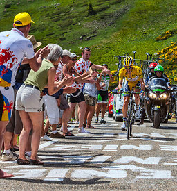 Yellow Jersey, Daryl Impey - Tour de France 2013