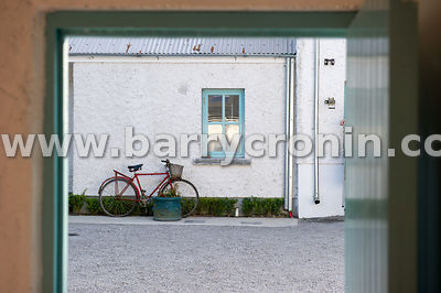 5th September, 2015.Tyrrellspass, County Westmeath. Pictured is 'the view from the Boudior' in the grounds of The Grocery:.Ph...