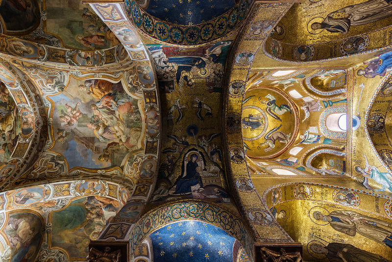The Ceiling of La Martorana