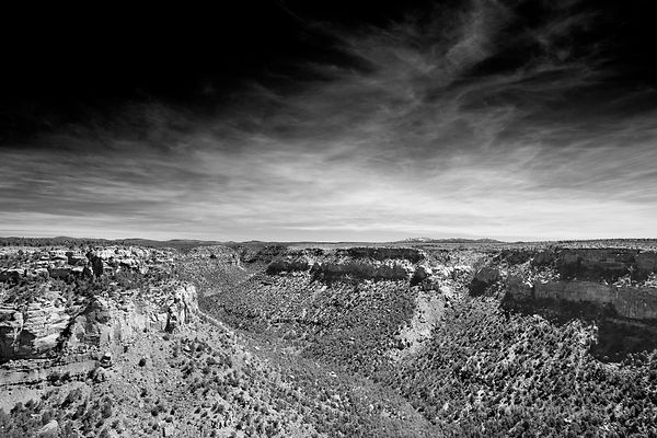 Mesa Verde National Park Colorado - Black and White Photos