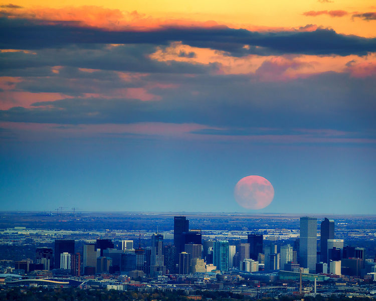 Denver Super Moon
